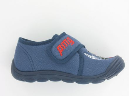 PRIMIGI Velcro Indoor Shoes/Slippers (Blue)